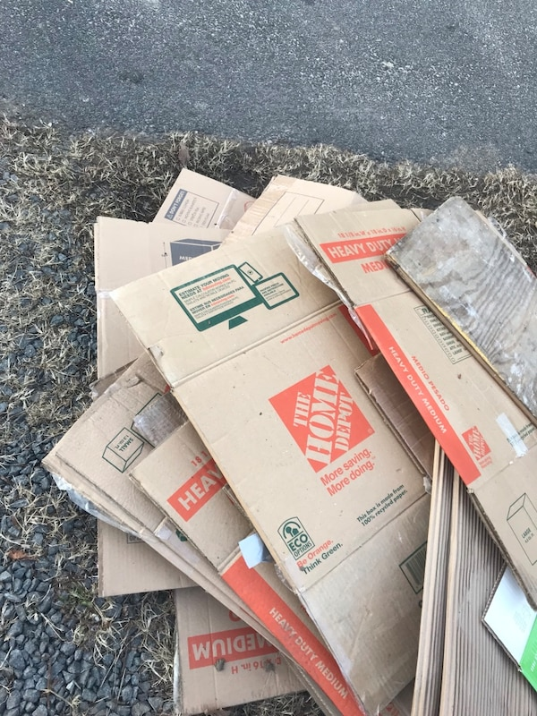 Moving Boxes-Home Depot