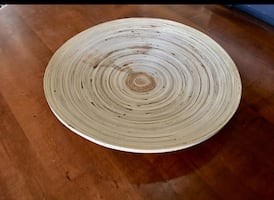 Beautiful Bamboo Decor Dish