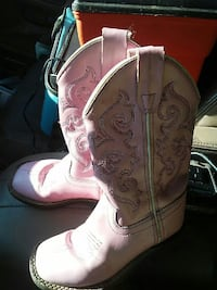 Girls cowgirl boots sz 10 Rathdrum, 83858