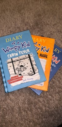 Diary of a Wimpy Kid by Jeff Kinney book series Leesburg, 20175