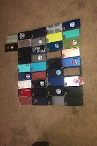 I phone 6/6s/7/8 cases for sale