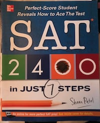 3 BOOKS (for SAT and TOEFL) North Attleboro, 02760