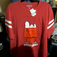 red and white crew-neck t-shirt 2178 mi