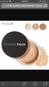 Focallure Face compact powder colors screenshot Barrie, L4N 5W7