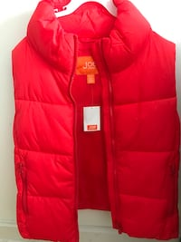 red Joe bubble full-zip vest Montréal, H1J 3C4