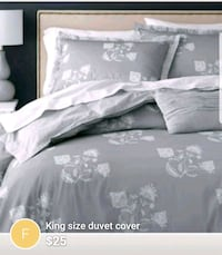 King duvet cover n 2 pillow cases Châteauguay