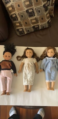 American girl dolls 60 for 3 of them. , T8C 1C5