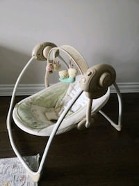 Baby swing, adjustable angle, swing speed & music Mississauga, L4Y 2M2