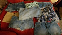 6 pair shorts 2 skirts Imperial, 63052