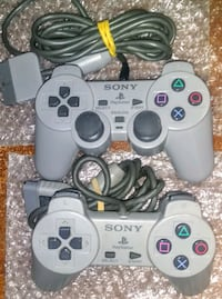 Set Of 2x PlayStation 1 Controllers (1 Analog) Silver Spring, 20906