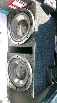 "Kenwood 12"" subwoofer speakers and amp Kennewick, 99336"