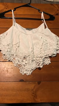 Size L White nitted crop top Orting, 98360