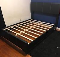 Brand new queen size platform bed frame  Silver Spring, 20901