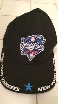 Black and white world series 2000 embroidered cap Coram, 11727