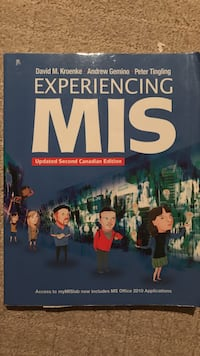 Experiencing MIS (Updated Second Canadian Edition) New Westminster, V3M 0C6