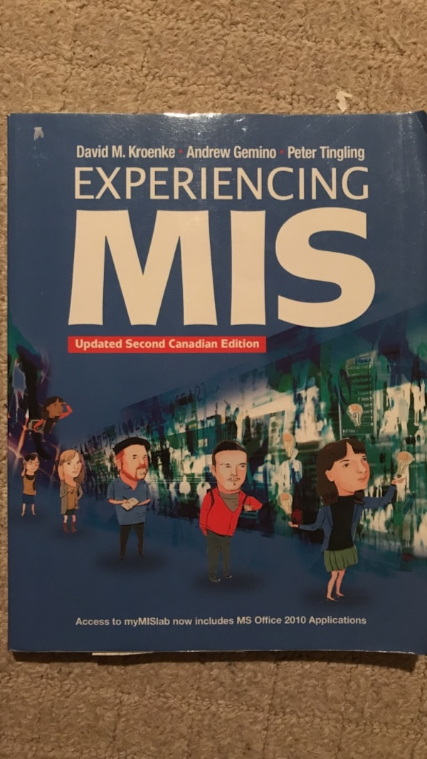 Experiencing MIS (Updated Second Canadian Edition)