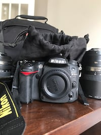 Nikon D7000 with two lenses and carrying bag Ottawa, K2T 0E5