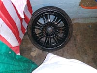 They are 20 s and i wont 150 obo will trade for 4 hole lugg rims 16 15