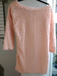 New peach color light off the shoulder sweater  Newmarket, L3Y