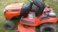 red and black riding mower North Fort Myers, 33903