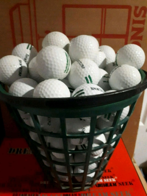Two Thousand Golf balls and Baskets