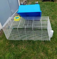 white and blue pet cage Berkeley Township, 08721