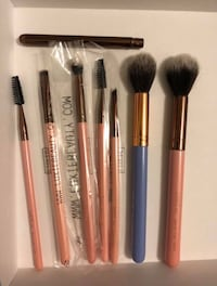 Luxie Brushes brand new $7 each or take all for $50 Mississauga, L5T 2W1