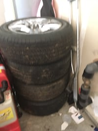 Custom Tires with Rims. Hardly used. Motivated seller! Charlotte, 28213