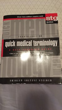 Quick medical terminology book Eastern Passage, B3G 0C5