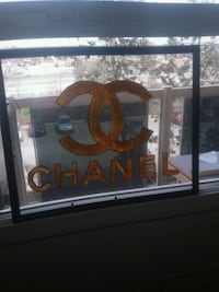 Chanel stained glass art