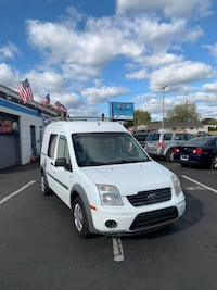 2013 WHITE FORD TRANSIT CNNECT XLT Gᗩᔕ ᔕᗩᐯEᖇ MINIVAN 1 OWNER SMOOTH
