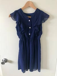 Navy Blue girl's dress from Macy's brand Newport Beach, 92662