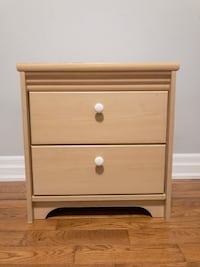 Bedside 2 Drawer (beige and beautiful small drawer) Toronto, M8V