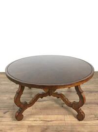 Wood Round Top Coffee Table (1013140) South San Francisco