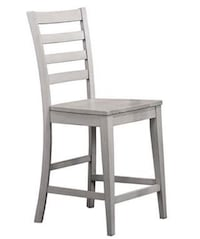 Ladder Back Counter Height Barstool (set of 2)