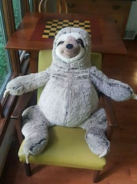New Giant Sloth Plush Stuffed Toy Syracuse, 13210