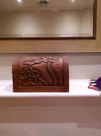 Hand-carved small chest 12
