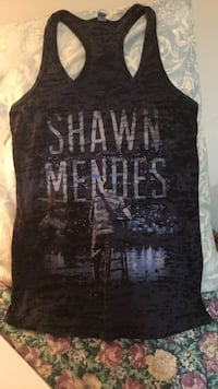 Shawn Mendes blue and gray tank top Mississauga, L5M 0L3