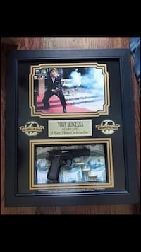 Scarface framed photo with props La Habra, 90631
