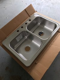 New Stainless Steel Sink Westminster, 21157