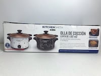 KitchenSmith by Bella 2- 1.5 qt slow cookers Hyattsville, 20781