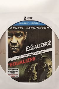 DVD The Equalizer Trilogy Part.1&2 On One Disc Philadelphia, 19153