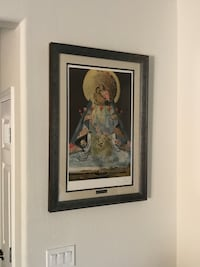 """SIGNED SALVATOR DALI """"Virgin of Guadalupe"""" lithograph with COA Surprise, 85374"""