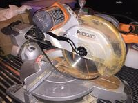 "Ridged 12"" compound miter saw with laser Tulsa"