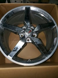 "4 Rims from 2014 Corvette. 18"" front and 19 "" rear. Bayonne, 07002"