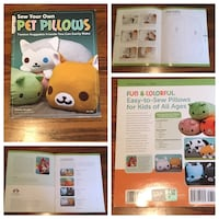 Sew-Your-Own Pet Pillows Book Burke, 22015