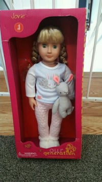 brand new doll goes for 22.00  Milton, 12547