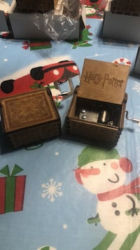 Harry Potter music box. One for $20 two for $35 Bradford, L3Z 2Z2