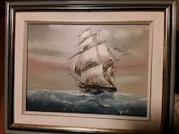 Absolutely Stunning Oil Painting of a Sailboat Mississauga, L5J 2E5