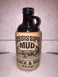Vintage Mississippi Mud Beer Bottle